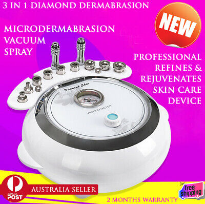 2018 3 in 1 Diamond Dermabrasion Microdermabrasion Machine Skin Peel Clean Face
