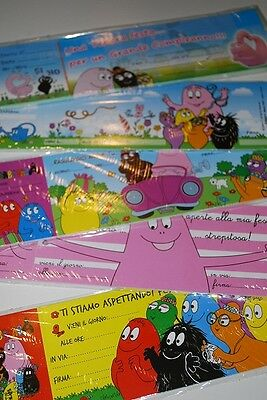 Inviti Barbapapa 15pz (10)