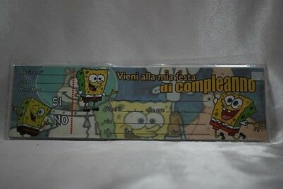 Inviti Spongebob 20pz