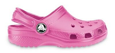 Genuine Crocs Kids/Adults Classic Caymen Clogs Fuchsia - 100% Positive Reviews