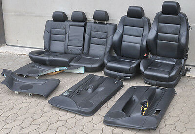vw golf 4 leder recaro sitzausstattung sitze r ckbank. Black Bedroom Furniture Sets. Home Design Ideas