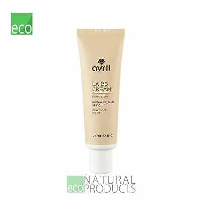 Avril Liquid LA BB Cream Organic EcoCert Light 30ml