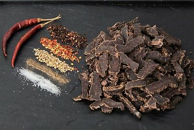 Biltong SLICED - 500g - SMOKED CHIPOTLE Flavour