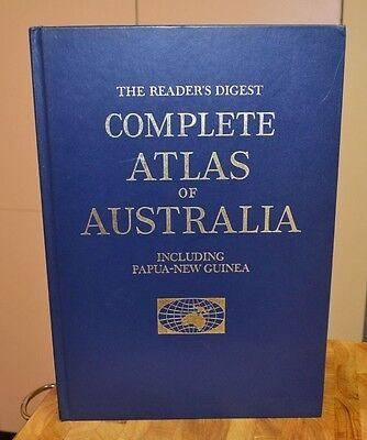 The Reader's Digest Complete Atlas of Australia & Papua New Guinea 1st Ed 1968