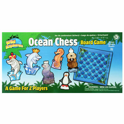 Wild Explorers Ocean Chess Board Game Kids New Sealed