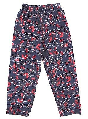 Disney Marvel Ultimate Spider-Man Boy's Pajama Sweatpants Size 7/8 128 cm NEW