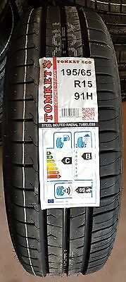 PNEUMATICI 195 65 R15 91H TOMKET ECO  in 3gg DOT 2017 C/B 69