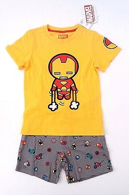 Marvel Iron Man Thor Wolverine Kids Boys 2 Piece Set Outfit 6-7 Years NWT