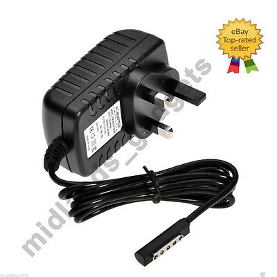Adaptor Charger For Microsoft Surface Pro/Pro 2/RT 10.6 Windows 8 Tablet adapter