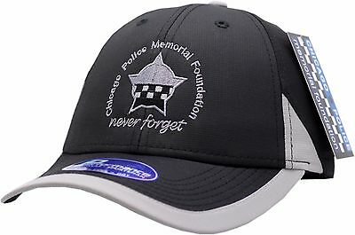 CPD Memorial Performance Edge Hat Black/Grey Strap Back