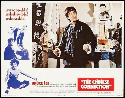 Chinese Connection, Bruce Lee, Rare Lobby Card Set Of 8 !