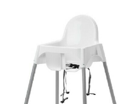 Baby Highchair With Safety Straps & Matching Tray Ikea Antilop Baby High Chair