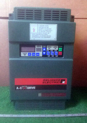 1 Used Reliance Gp-2000 2Gu41002 A-C Vs Drive ***make Offer***