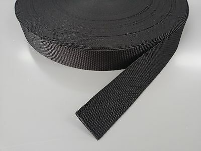 38mm / 3.8cm / 1.5 inch Webbing / Strapping 1 - 50 meter lengths