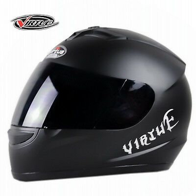 DOT WOW Full Face Motorcycle Helmet 7 Colors Street RACING Size: M L XL