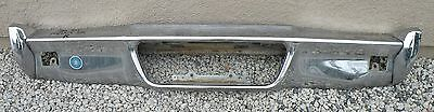 X Lincoln Mark Iii 3 New Triple Plated Chrome Rear Back Bumper 1970-1971 70-71