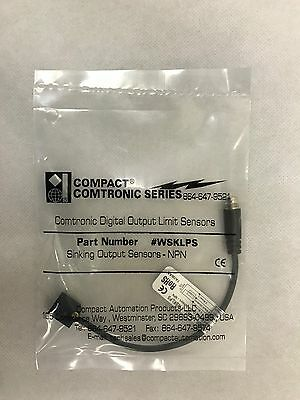 Compact Automation WSKLPS Comtronic NPN Sensor with M8 Connector