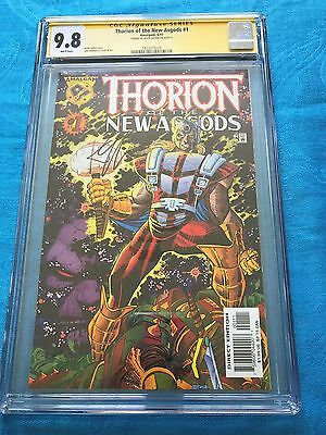 Thorion of the New Asgods #1 - Amalgam - CGC SS 9.8 NM/MT - Signed by K Giffen
