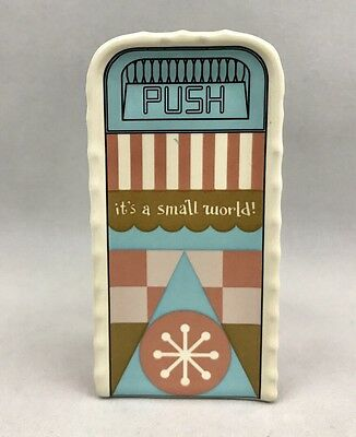 Disney Parks It's A Small World Trash Can Ceramic Shaker - NEW with Tag