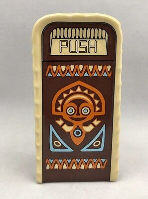 Disney Parks Polynesian Village Resort Trash Can Ceramic Shaker - NEW with Tag