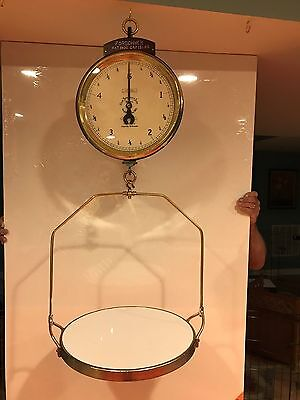 Antique Forschner 15lb Hanging Scale