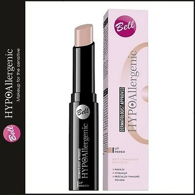 204 Bell Hypoallergenic Lip Primer Creamy Texture Moisturising Smoothing Make Up