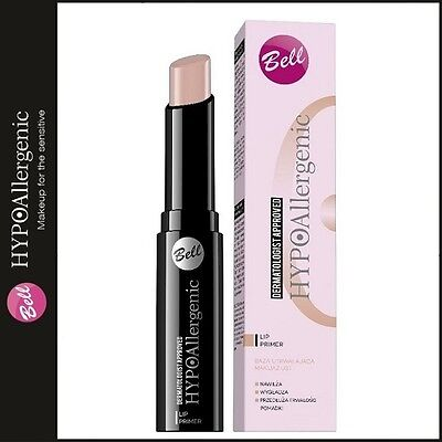 L204 Bell Hypoallergenic Lip Primer Creamy Texture Moisturizing Smoothing