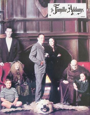 THE ADDAMS FAMILY 1991 ANGELICA HUSTON 12 French lobby-cards