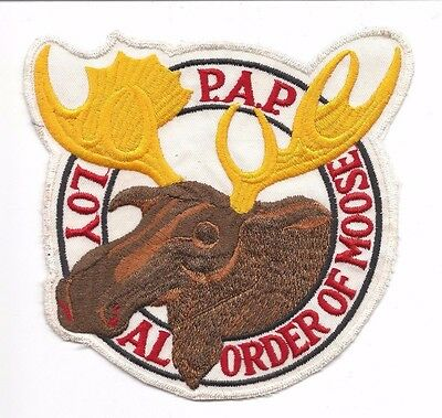 Loyal Order Of Moose P.a.p.  Large Jacket Patch