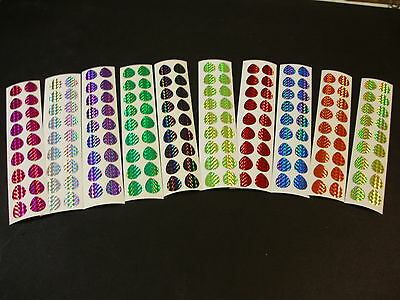 8 Color 6 Ea Variety Pk Willowleaf Blade Fishing Lure Tape Diecut Size 2,3,4,/& 5