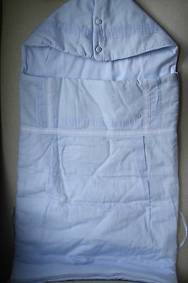 Baby Dior Blue Cotton Baby Nest Sleeping Bag 86 Cm
