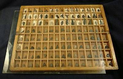 A650 Japanese Ancient JOMON Period Arrow Heads Set of 120pc Collection
