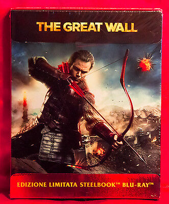 The Great Wall Limited Edition Steelbook Blu-ray Region Free NEW