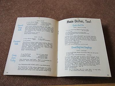 Vintage Shortening Cookbook 1950 Make Your Own Mix Recipes Swiftning Swift & Co.