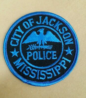 City Of Jackson, Mississippi Police Shoulder Patch Ms