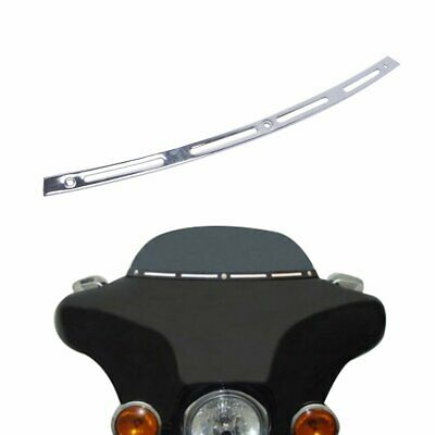Chrome Windshield Trim For 1996-2013 Harley-Davidson Touring Bagger Batwing