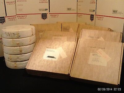 Danbury Mint Official Tall Ships COMPLETE 12 Plate Set in Original Boxes