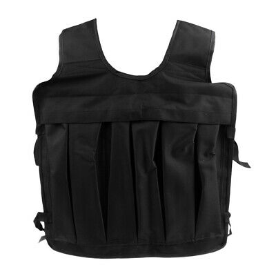 Adjustable Weighted Vest Strength Training Weight Waistcoat & Shoulder Pads