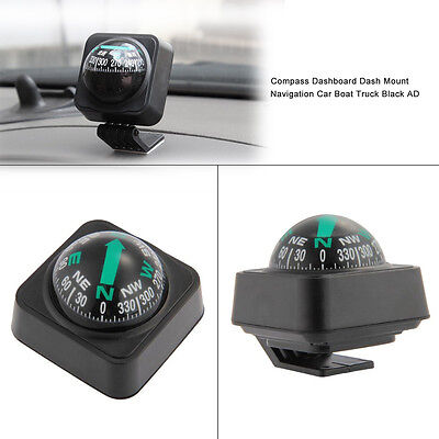 Hot Compass Dashboard Dash Mount Navigation Car Boat Truck Black Useful