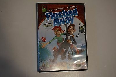 DREAMWORKS FLUSHED AWAY Dvd 2018 Plus Sleeve - New And ...