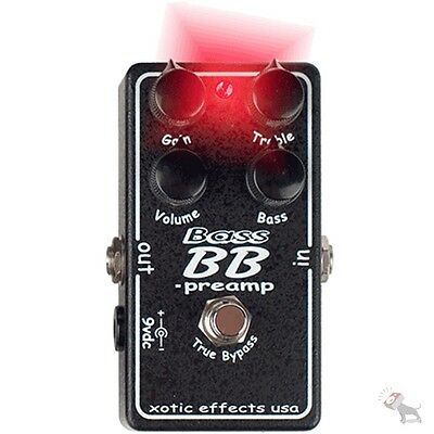 Xotic Bass BB Preamp Distortion Booster Effect Pedal for Electric Bass Guitar
