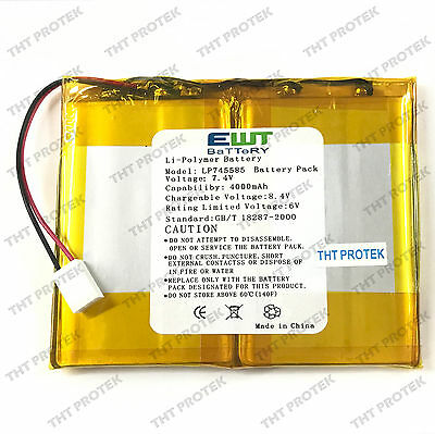 Tablet Akku Battery Batterie Li-polymer Model: LP745585, 4000mAh, 7.4V
