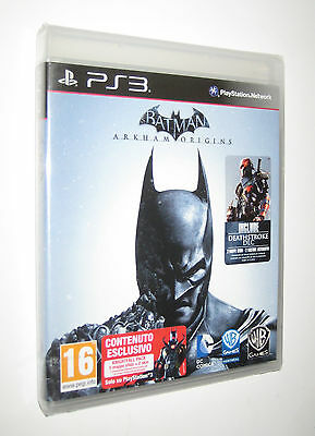 BATMAN ARKHAM ORIGINS - PS3 Play Station 3 - italiano --- SIGILLATO