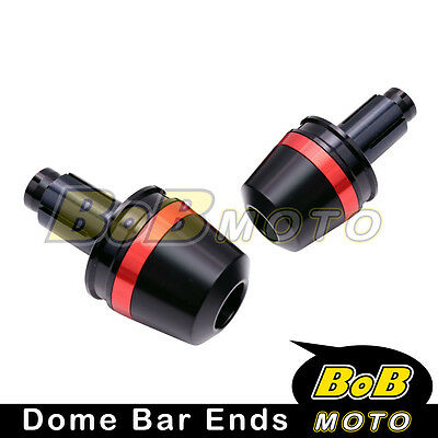 CNC Red Dome Bar Ends Sliders Fit Honda CBR 250R 2012-2013 12 13