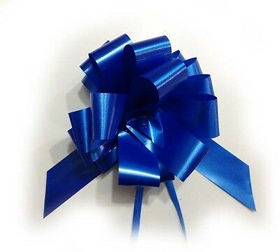 Coccarde Sveltostrip 31mm BLU Royal Fiocco Matrimonio 50pz