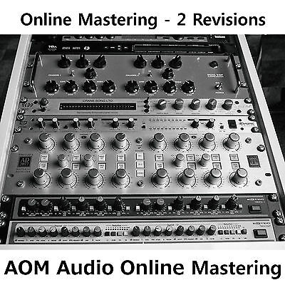 """Online-Mastering - 2 Revisions - Stereo-Mix """"TOP"""""""