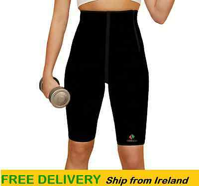Workout Slimming Sweat Weight Loss Gym  Ladies Neoprene Compression Sauna Shorts