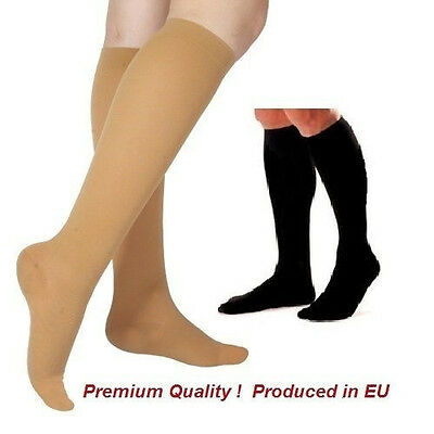 Compression Stockings/Socks Med.Grade  Knee High Class I ,18-21 mmHg Closed Toe