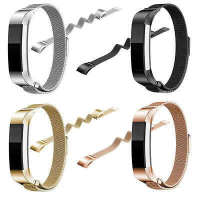 Milanese Loop Stainless Steel Watch Band Strap Bracelet For Fitbit Alta Hr Uk