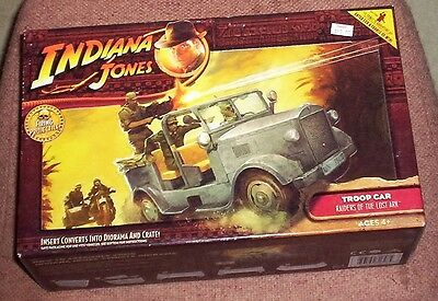 Hasbro Indiana Jones Troop Car MISB Raiders of the Lost Ark